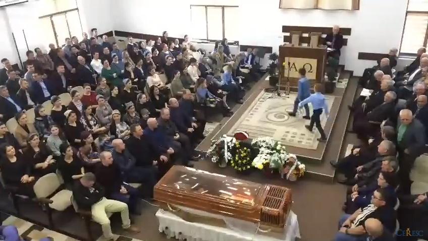 ACUM LIVE VIDEO: Inmormantare Ciuriuc Nicolai 26 septembrie 2017