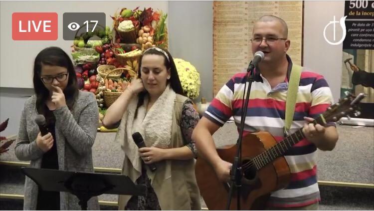 🔴📹ACUM LIVE VIDEO Seară de Tineret la Biserica Penticostala Emanuel din Sibiu transmite. URMĂREȘTE ȘI TU!