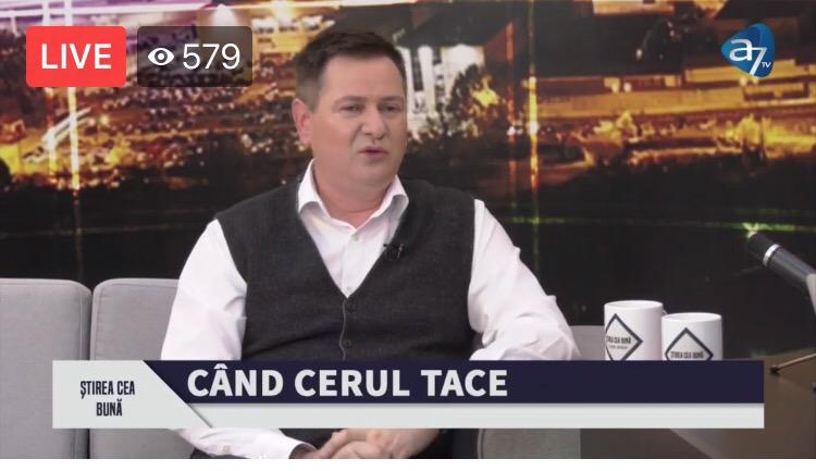 Acum LIVE VIDEO Emisiune cu Cornel Dărvășan și Florin Ianovici – CÂND CERUL TACE