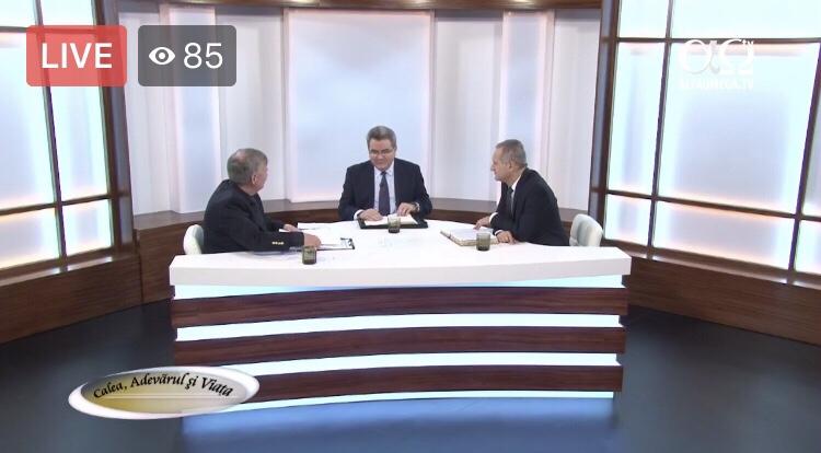 Acum Live video emisiune cu Iuliu Centea și Nelu Filip