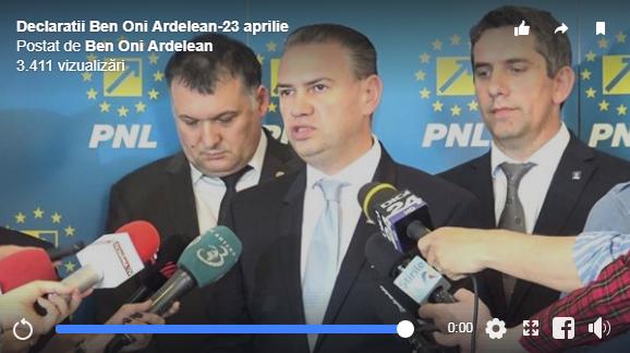 Baptistul Ben-Oni Ardelean: Teodor Meleșcanu, să vină în faţa comisiei pentru a da explicaţii cu privire la memorandumul Guvernului de a muta Ambasada României de la Tel Aviv la Ierusalim!