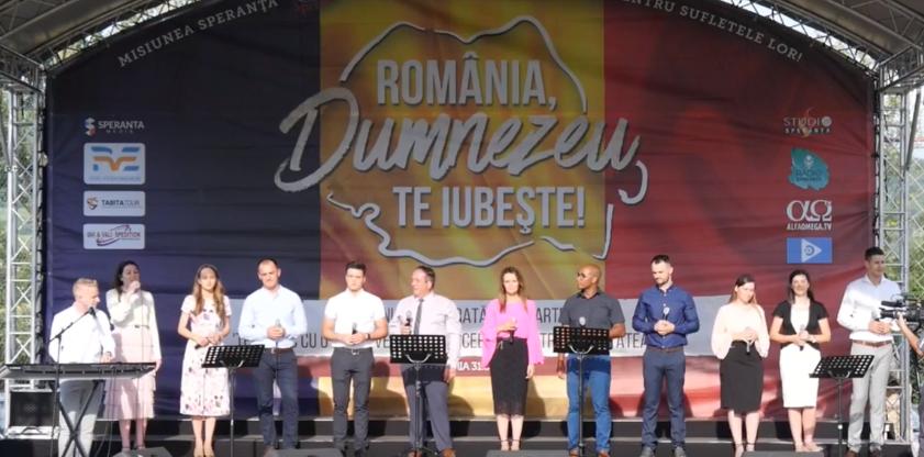 ACUM LIVE VIDEO | Turneu Speranța la Bacau – România, Dumnezeu te iubește!