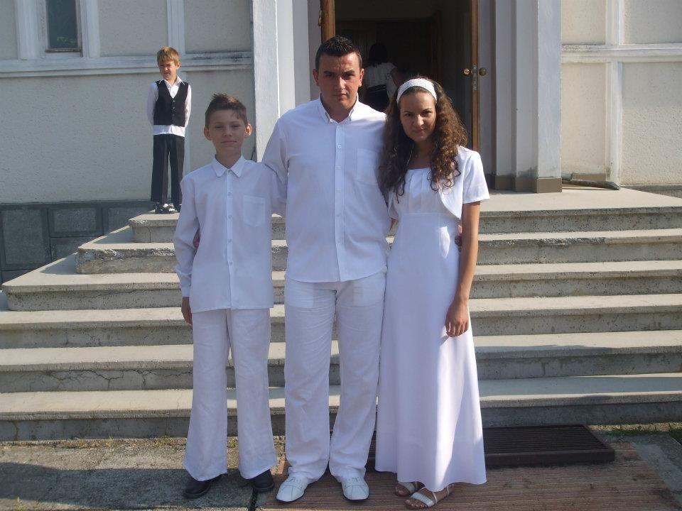 Cel mai tânăr primar din ţară s-a botezat la baptisti